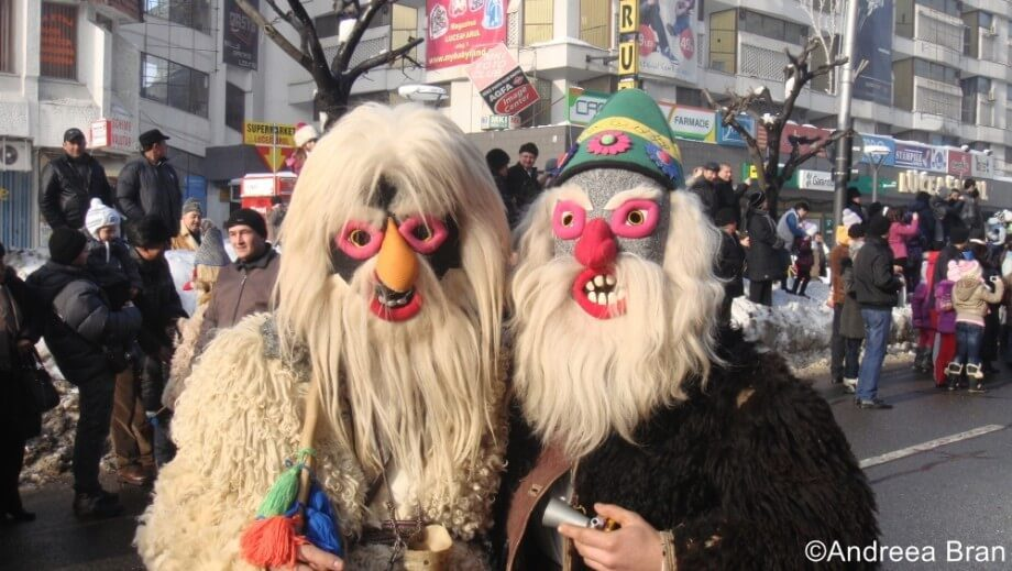 New Year Traditions in Romania