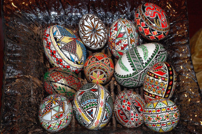 painted-eggs-romania