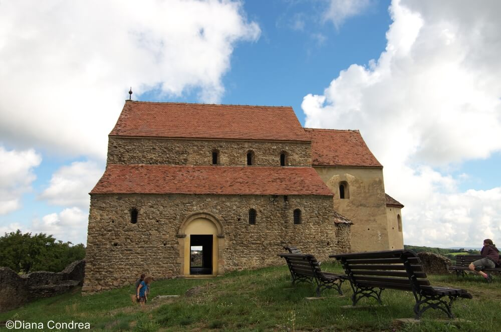 fortified church from Cisnadioara